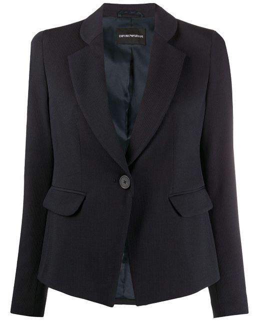 Emporio Armani テーラード シングルジャケット Blue