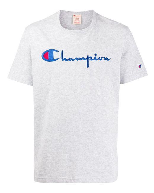 メンズ Champion ロゴ スウェットシャツ Multicolor