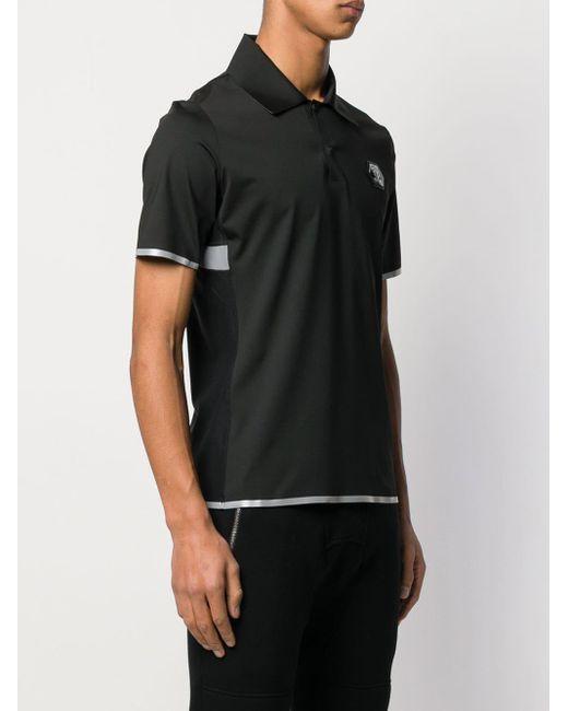 Спортивная Рубашка-поло Philipp Plein для него, цвет: Black