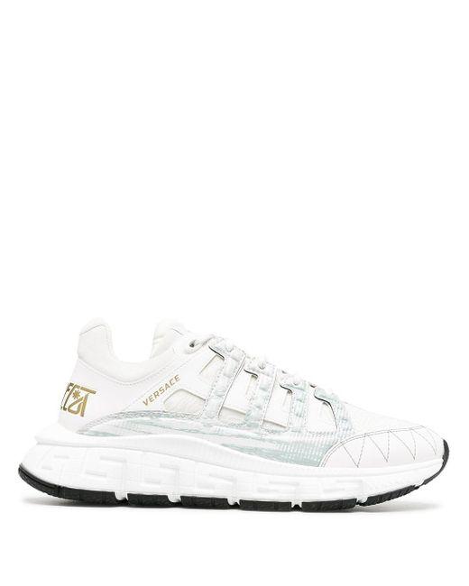 Кроссовки Trigreca Versace для него, цвет: White