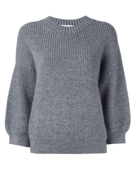 Пуловер С Объемными Рукавами 3.1 Phillip Lim, цвет: Gray