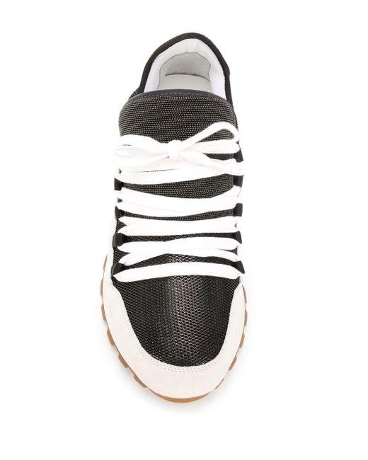 Кроссовки С Сетчатой Вставкой Brunello Cucinelli, цвет: White