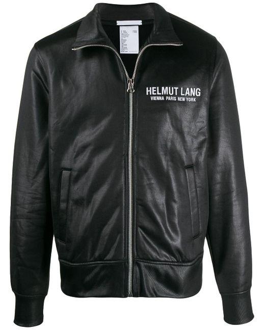 メンズ Helmut Lang トラックジャケット Black