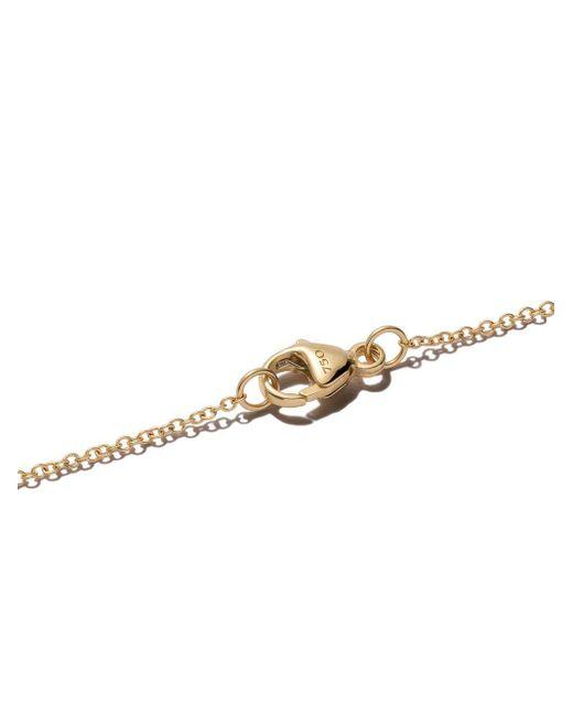 David Yurman Cable Collectibles ダイヤモンド&サファイア イーヴィルアイ ネックレス 18kイエローゴールド Metallic