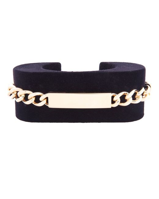 Maison Margiela   Black Chain Detail Cuff   Lyst