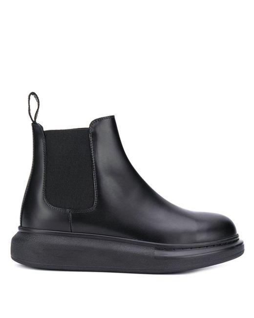 Alexander McQueen チェルシーブーツ Black