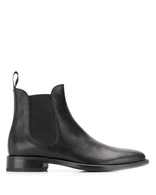 Scarosso Black Chelsea Boots for men