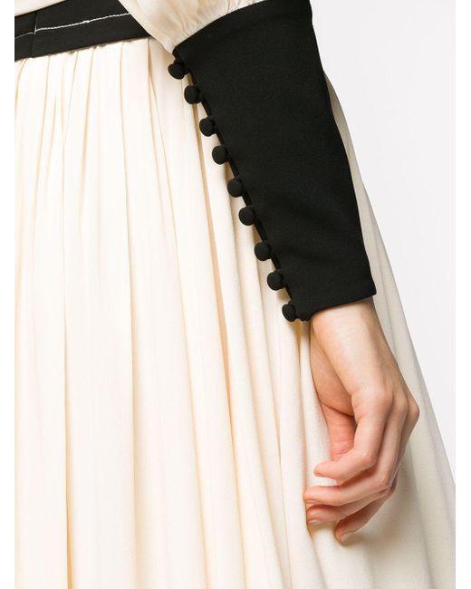 Proenza Schouler ドレープ ドレス Multicolor