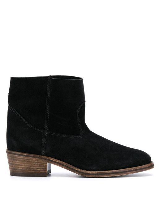Forte Forte Black Slip-on Ankle Boots