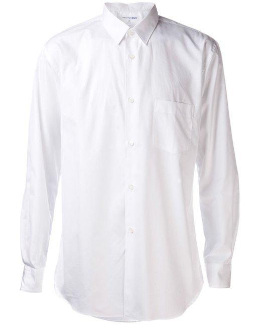 Comme des Garçons   Black Comme Des Garçons Shirt Classic Collar Button Down for Men   Lyst