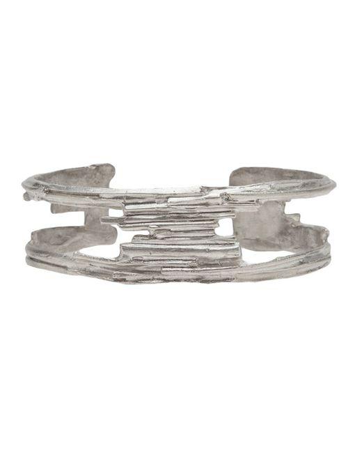 1-100 | Metallic Cut Out Cuff | Lyst