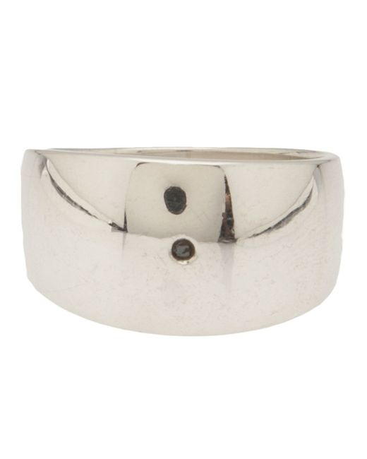 Henson | Metallic Husk Ring | Lyst