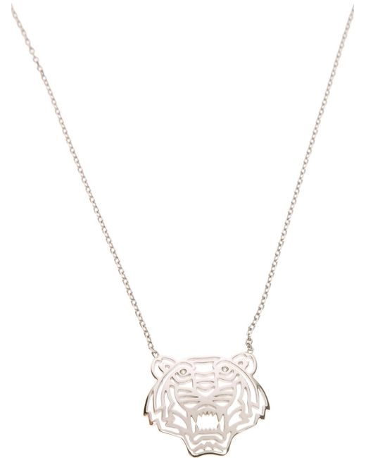 KENZO | Metallic 'tiger' Necklace | Lyst