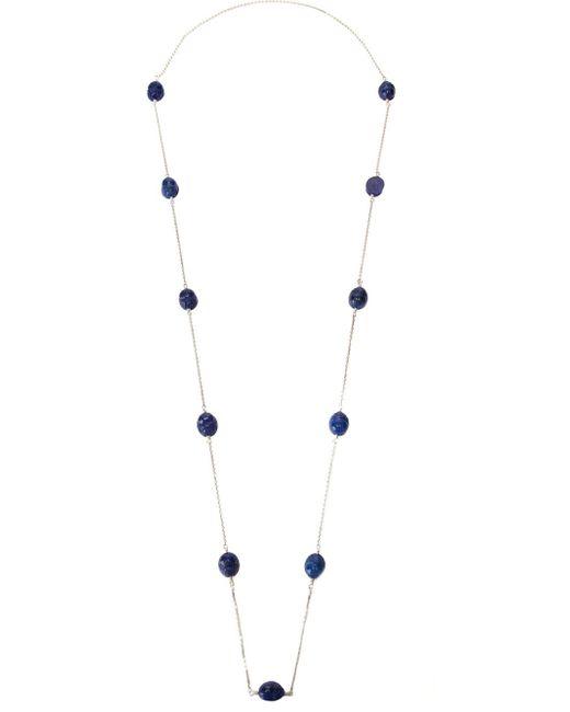 Aurelie Bidermann | Blue 'scarab' Necklace | Lyst