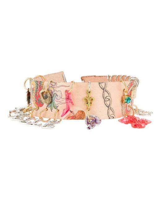 Arielle De Pinto | Multicolor Charm Bracelet | Lyst