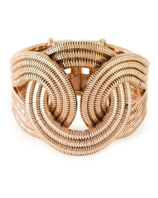 Lara Bohinc | Metallic 'solar Eclipse' Large Bracelet | Lyst