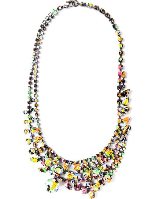 Tom Binns | Multicolor 'splash Out' Layered Necklace | Lyst