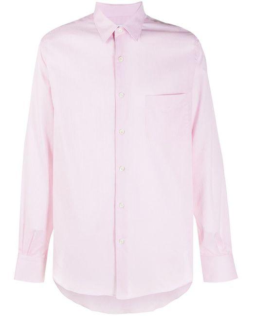 メンズ Cobra S.C. ストライプ シャツ Pink