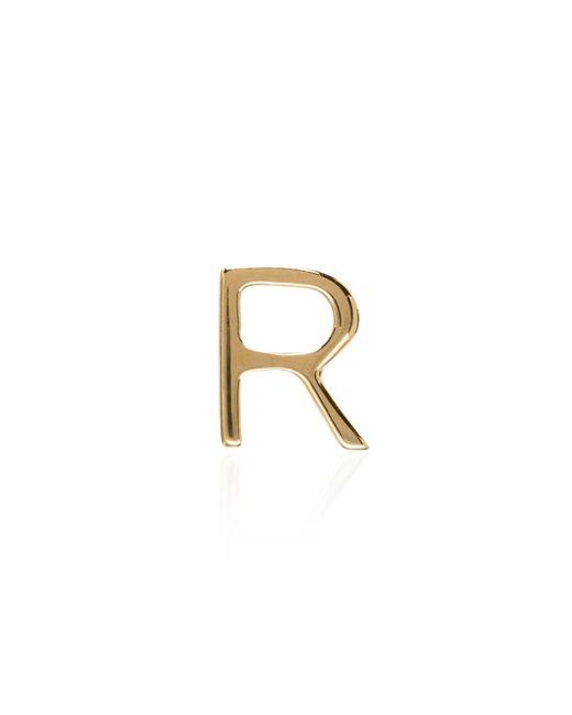 Loquet London R レターチャーム 18kイエローゴールド Metallic