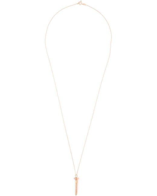 True Rocks | Metallic Large Screw Pendant Necklace | Lyst