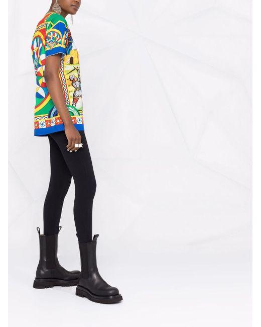 Dolce & Gabbana グラフィック Tシャツ Green
