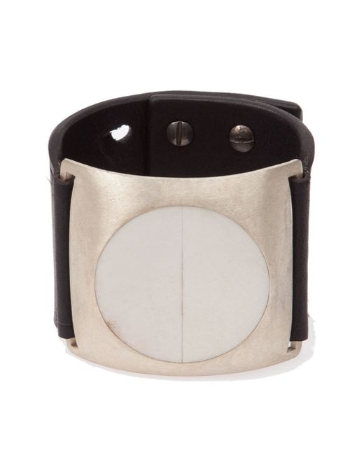 Rick Owens | Black 'dieter' Cuff for Men | Lyst