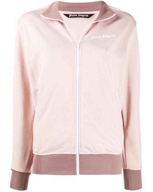 Palm Angels ロゴ ボンバージャケット Pink