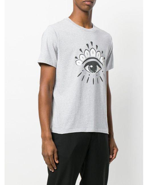 メンズ KENZO Eye Tシャツ Gray