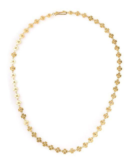 Marie-hélène De Taillac | Metallic Clover Necklace | Lyst