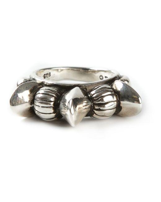 Pamela Love | Metallic Engraved Ring | Lyst