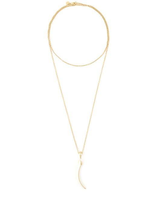 Shaun Leane | Metallic 'knife Edge' Long Necklace | Lyst