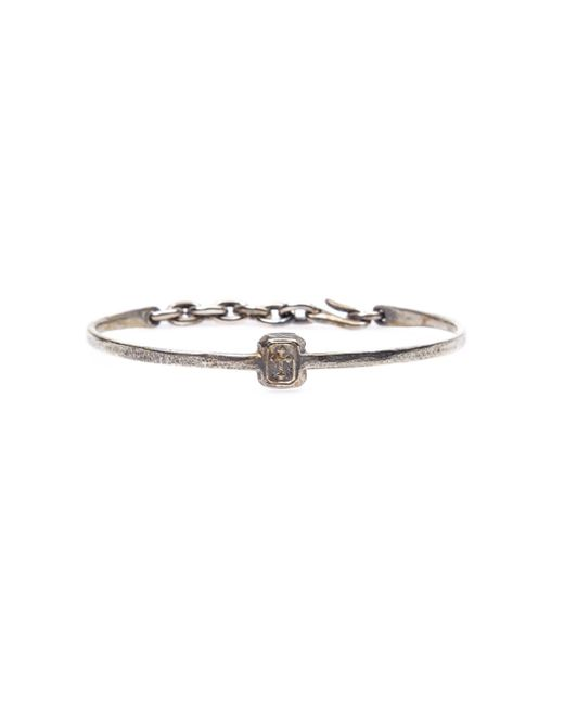 Tobias Wistisen | Metallic Skinny Cross Stamp Bangle for Men | Lyst