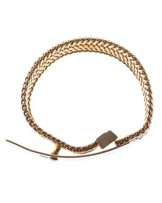 Wouters & Hendrix | Metallic Buckled Bracelet | Lyst