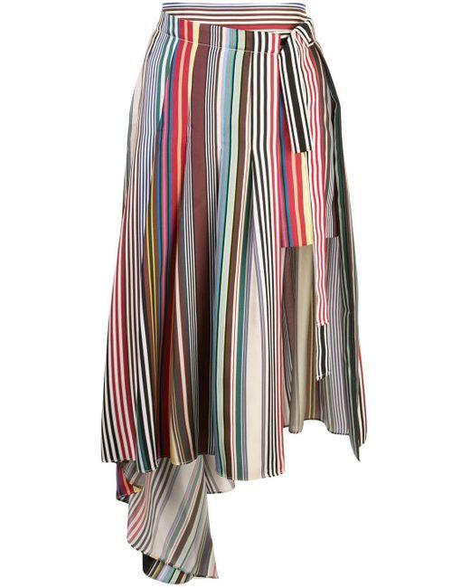 Monse アシンメトリー スカート Multicolor