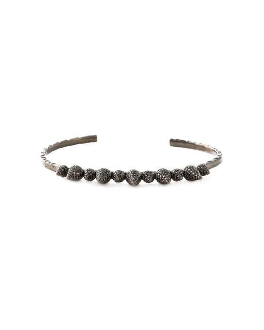 Joelle Jewellery | Black Joëlle Jewellery 'spike' Bangle | Lyst