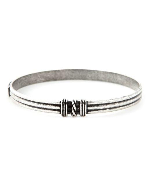 Saint Laurent | Black Knot Detail Bracelet | Lyst