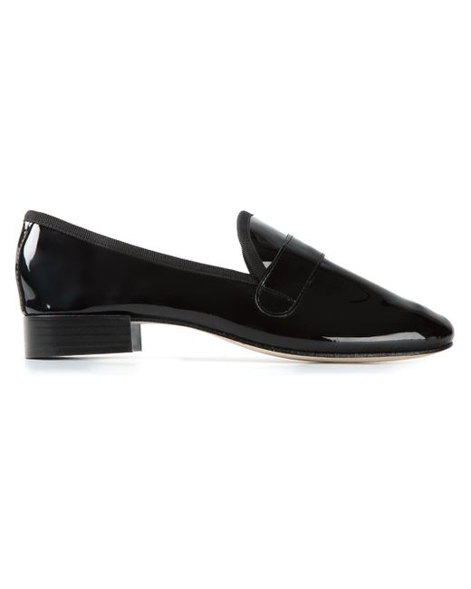 Repetto | Black 'michael' Slippers | Lyst