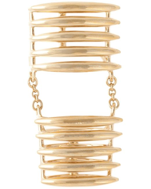 Shaun Leane | Metallic 'quill' Finger Ring | Lyst
