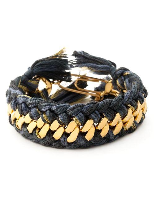 Aurelie Bidermann   Metallic 'do Brasil' Bracelet   Lyst