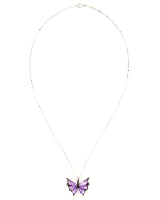 Stephen Webster | Metallic 'fly By Night' Pendant Necklace | Lyst