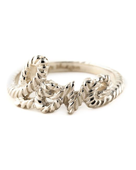 Zoe & Morgan | Metallic 'love Lasso' Ring | Lyst