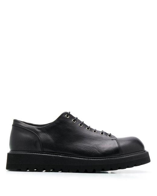 Volanato Leather Shoes Premiata для него, цвет: Black