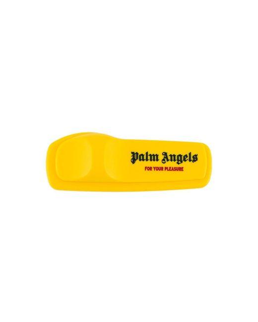メンズ Palm Angels Anti-theft ロゴ ピン Yellow