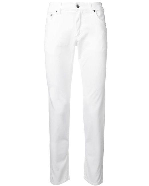 メンズ Dolce & Gabbana ストレートパンツ White
