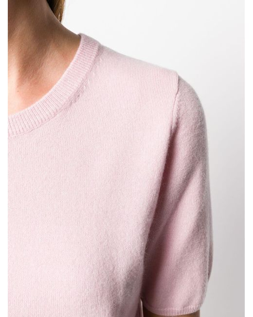 N.Peal Cashmere カシミア トップ Pink