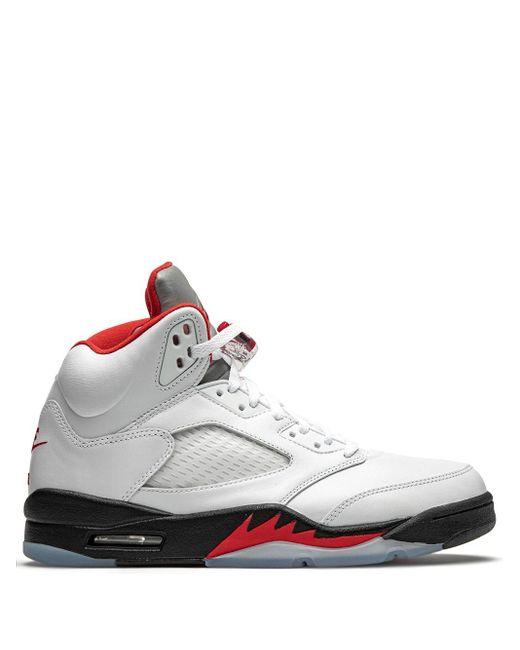 メンズ Nike Air 5 Retro スニーカー White