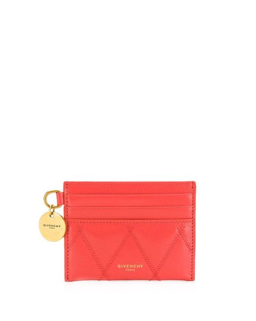 Givenchy Gv3 カードケース Red