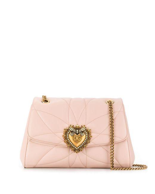 Dolce & Gabbana Devotion ショルダーバッグ Pink