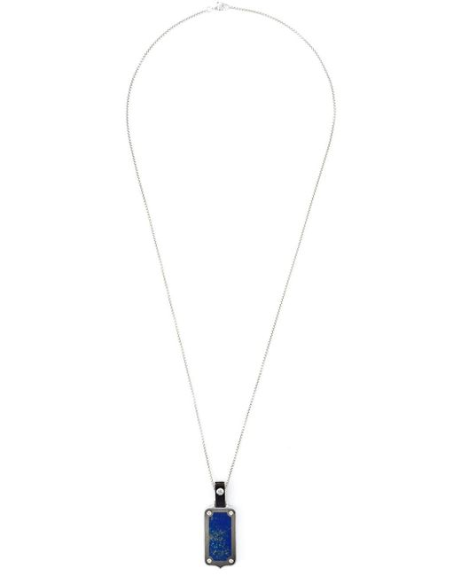 Stephen Webster | Metallic Dog Tag Pendant Necklace for Men | Lyst