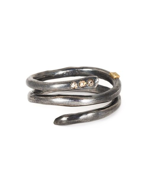 Rosa Maria | Metallic 'izzy' Spiral Ring | Lyst